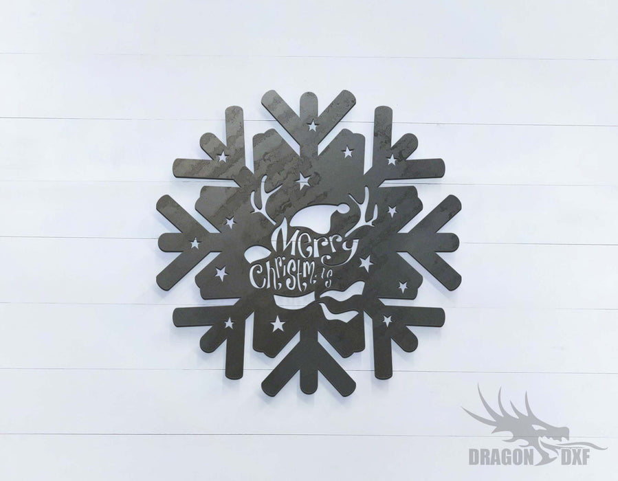 Snowflakes - DXF Download
