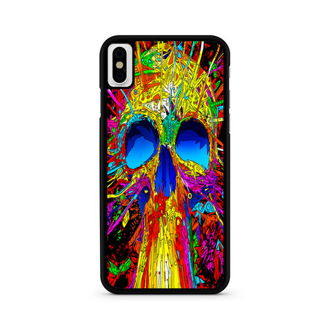 Abstract Colorful Skull iPhone X | XR | XS | XS Max Case