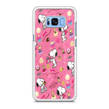 Snoopy Peanuts Pink Samsung Galaxy S8 | S8 Plus Case