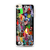 WWE Stars Logo Collage iPod Touch 6 Case