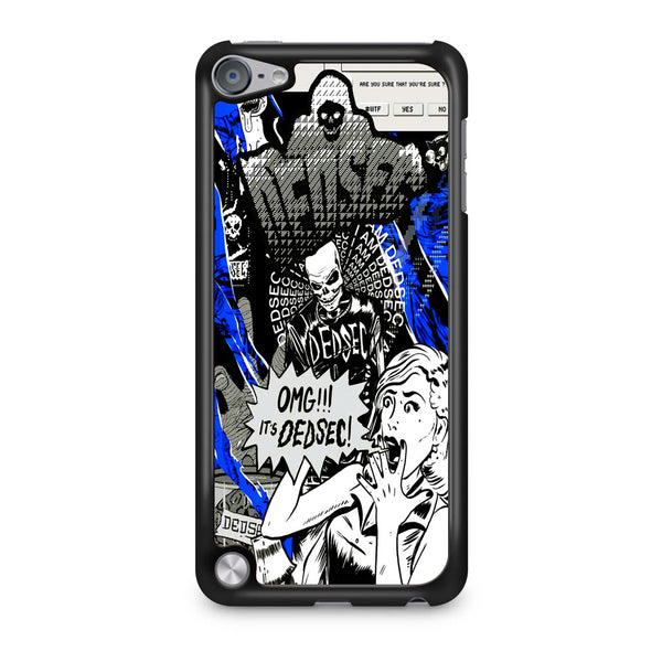Watch Dogs Omg It's Dedsec iPod Touch 5 Case