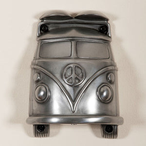Campervan (Silver Finish) Mounted Bottle Opener