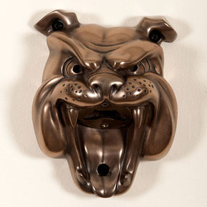 Bulldog Bronze Mounted Bottle Opener