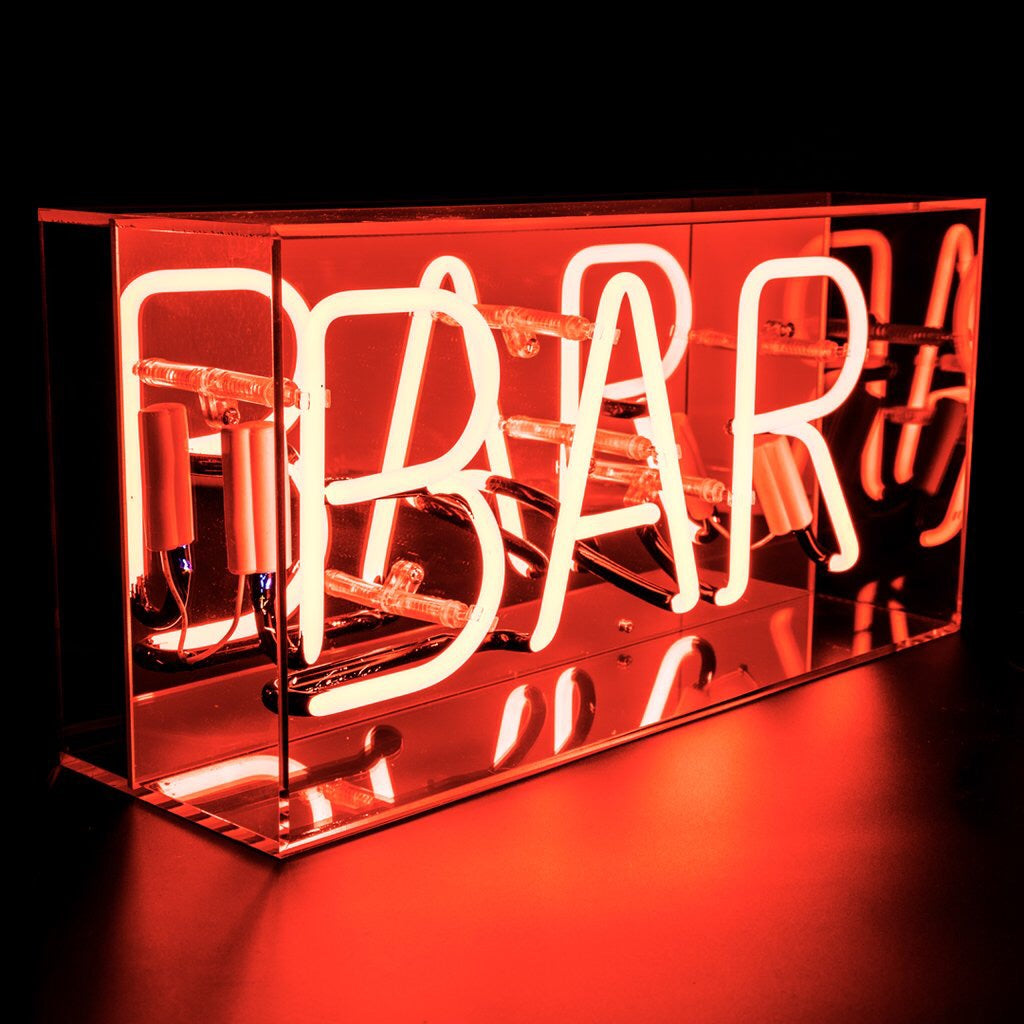 Neon Bar light box