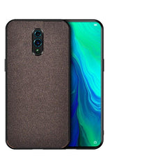 Rs.549 Fabric Back Cover OPPO Reno - Brown