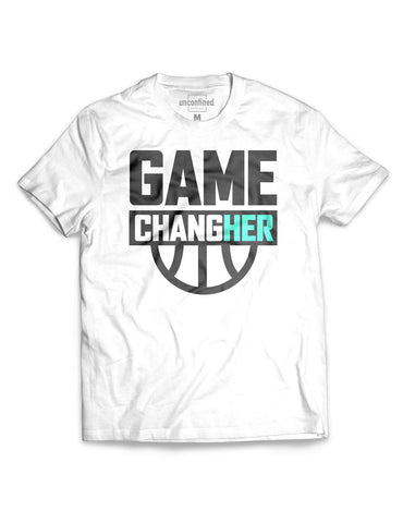 Game ChangHER Basketball Tee (unisex)