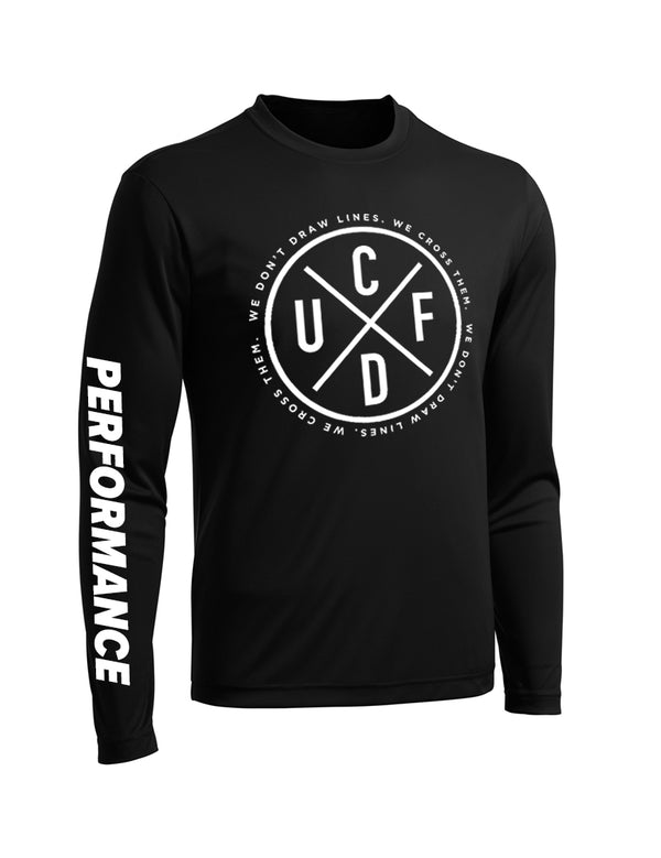 Performance Long Sleeve - Black - Unconfined. Apparel