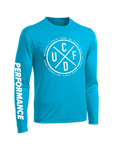 Performance Long Sleeve - Blue