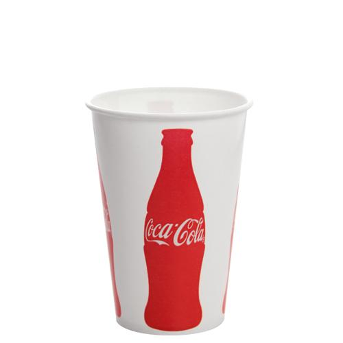 16oz Paper Cold Cups - Coca Cola (90mm) - 1,000 ct-Cups & Lids-Karat-No Lids-Carry Out Supplies