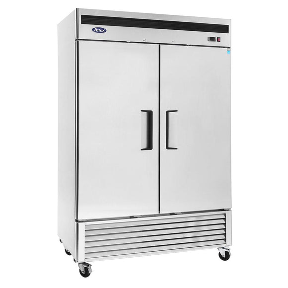 Atosa Bottom Mount Two Section Solid Door Reach-In Freezer MBF8503-Refrigeration Units-Karat-Carry Out Supplies