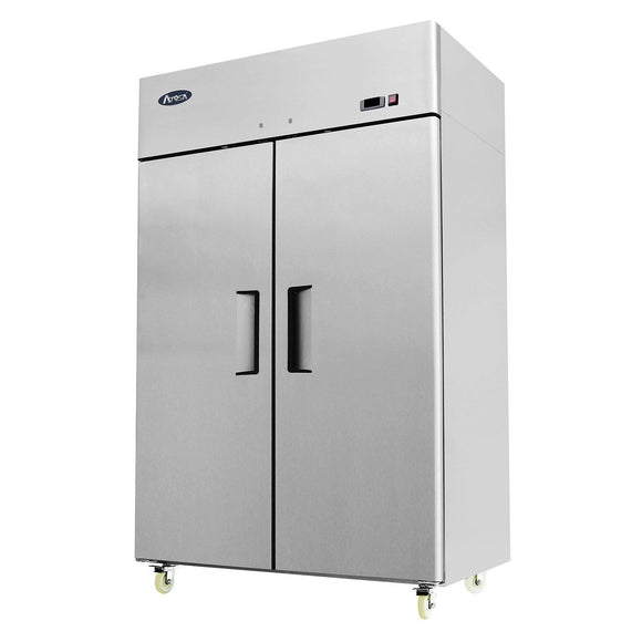 Atosa Top Mount Two Section Solid Door Reach-In Freezer MBF8002-Refrigeration Units-Karat-Carry Out Supplies