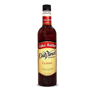 Cake Batter DaVinci Syrup Bottle - 750mL-Syrups-DaVinci Gourmet-Carry Out Supplies