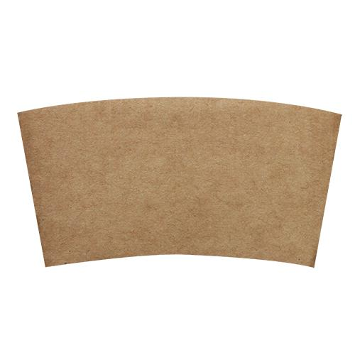 Coffee Sleeves - 8oz Traditional Cup Jackets - Kraft - 1,000 ct-Cup Accessories-Karat-Carry Out Supplies