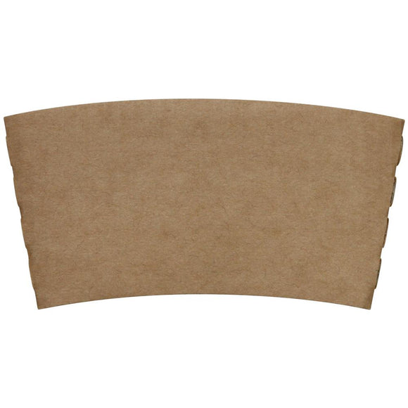 Coffee Sleeves - Traditional Cup Jackets - Kraft - 1,000 ct-Cup Accessories-Karat-Carry Out Supplies