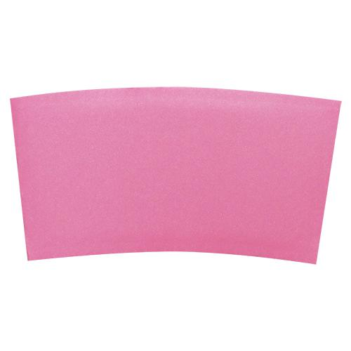 Coffee Sleeves - Traditional Cup Jackets - Pink - 1,000 ct-Cup Accessories-Karat-Carry Out Supplies