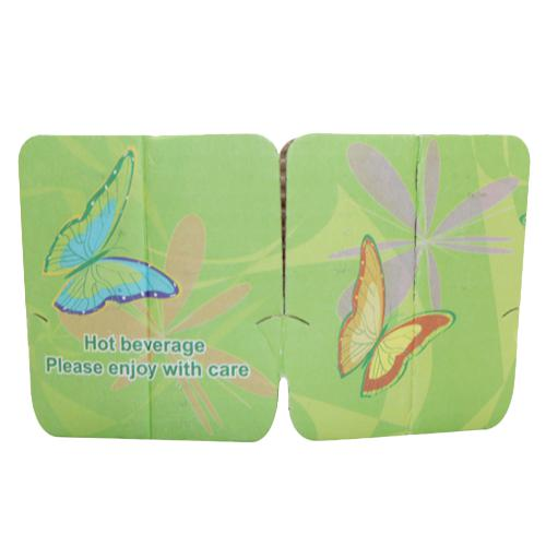 Coffee Sleeves - Tulip Cup Jackets - Cheerful Green - 1,000 ct-Cup Accessories-Karat-Carry Out Supplies