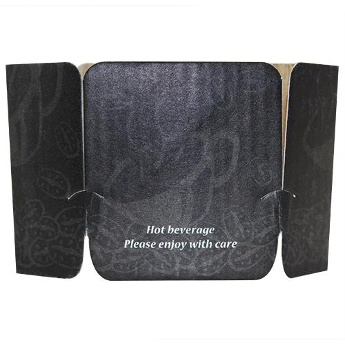 Coffee Sleeves - Tulip Cup Jackets - Ebony - 1,000 ct-Cup Accessories-Karat-Carry Out Supplies