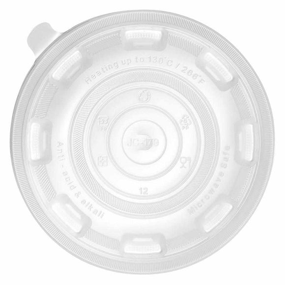 Karat 36oz PP Flat Lid - For Injection Molding Bowl - 300 ct-Bowls & Plates-Karat-Carry Out Supplies