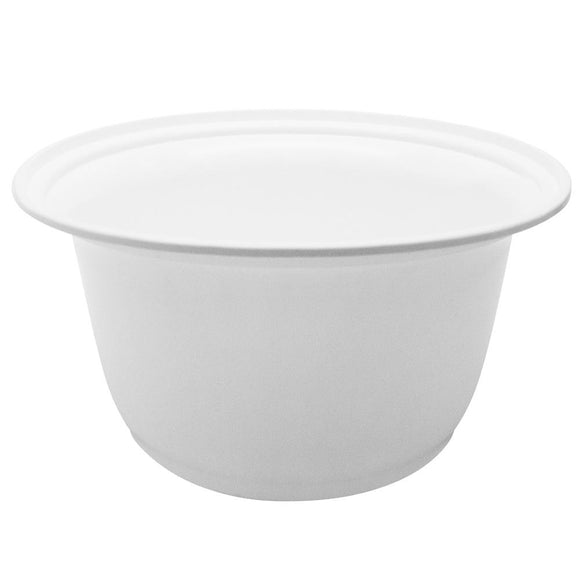 Karat 36oz PP Injection Molding Bowl - White - 300 ct-Bowls & Plates-Karat-Carry Out Supplies