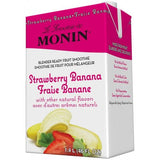 Monin Strawberry Banana Fruit Smoothie Mix (46oz)-Liquid Base & Purees-monin-Carry Out Supplies