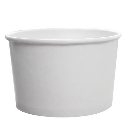 Paper Food Containers - 20oz Food Containers - White (127mm) - 600 ct-To-Go Packaging-Karat-No Lids-Carry Out Supplies