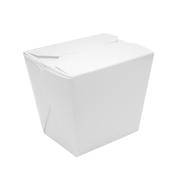 Paper Food Pail 8oz Chinese Take-Out Container - White - 450 Count-To-Go Packaging-Karat-Carry Out Supplies