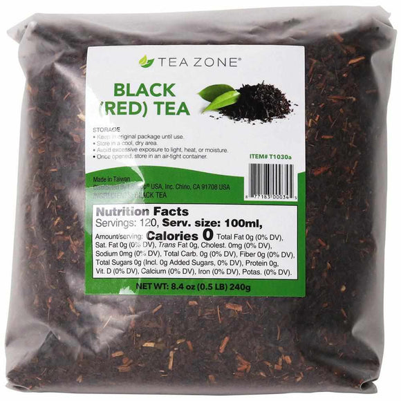 Tea Zone Black (Red) Tea Leaves - Bag (8.46oz)-Tea Leaves-Tea Zone-Carry Out Supplies