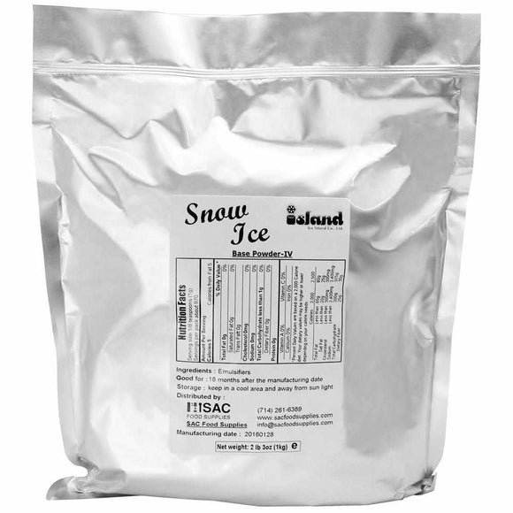 Tea Zone Snow Fluff Powder - Concentrated Formula IV-Dessert Mixes-Tea Zone-Carry Out Supplies