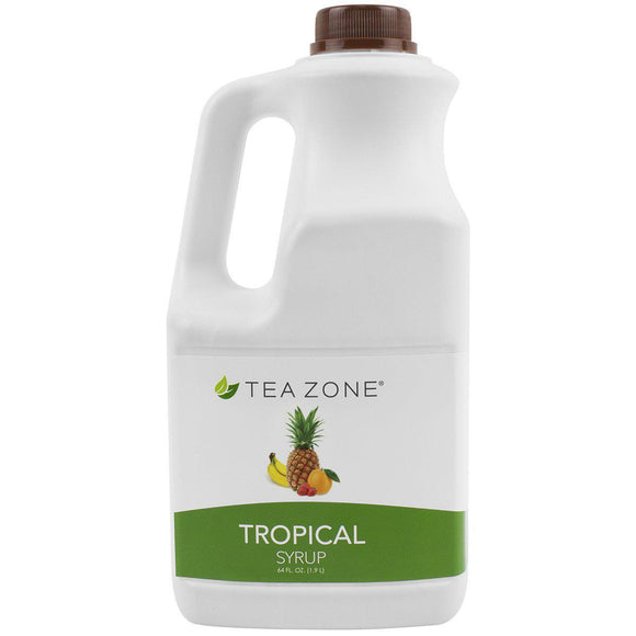 Tea Zone Tropical Syrup Bottle - 64 oz-Syrups-Tea Zone-Carry Out Supplies