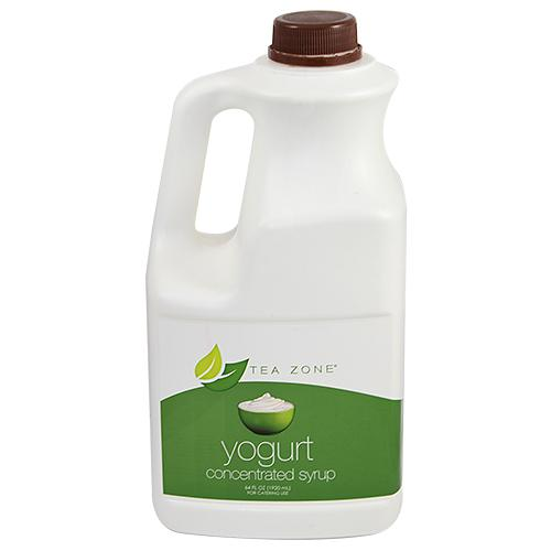 Tea Zone Yogurt Syrup Bottle - 64 oz-Syrups-Tea Zone-Carry Out Supplies