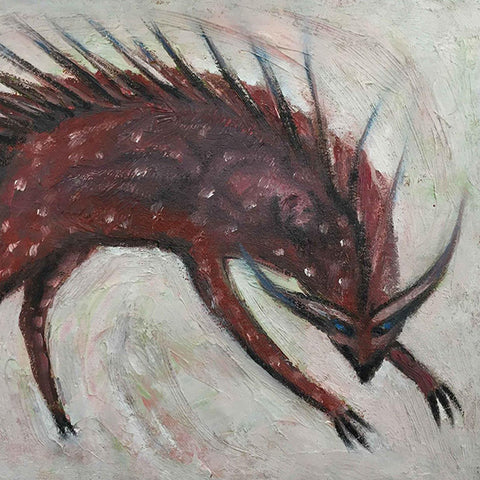 Alexis Hunter, Chimera, 2005, Oil on Canvas