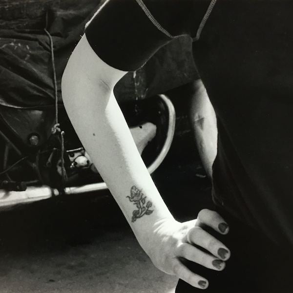 Alexis Hunter, The Tattoo Series, 1973, Silver gelatin print crop