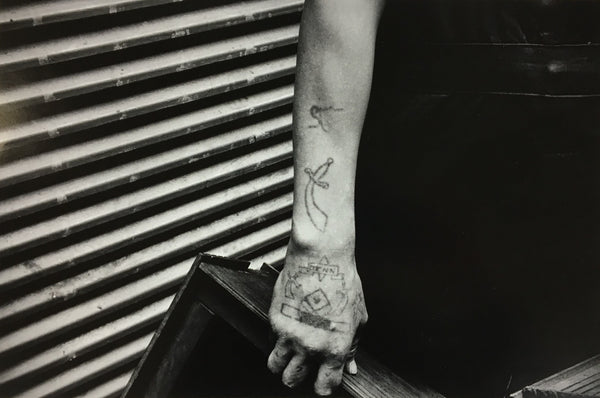 Alexis Hunter, The Tattoo Series, 1973, Silver gelatin print