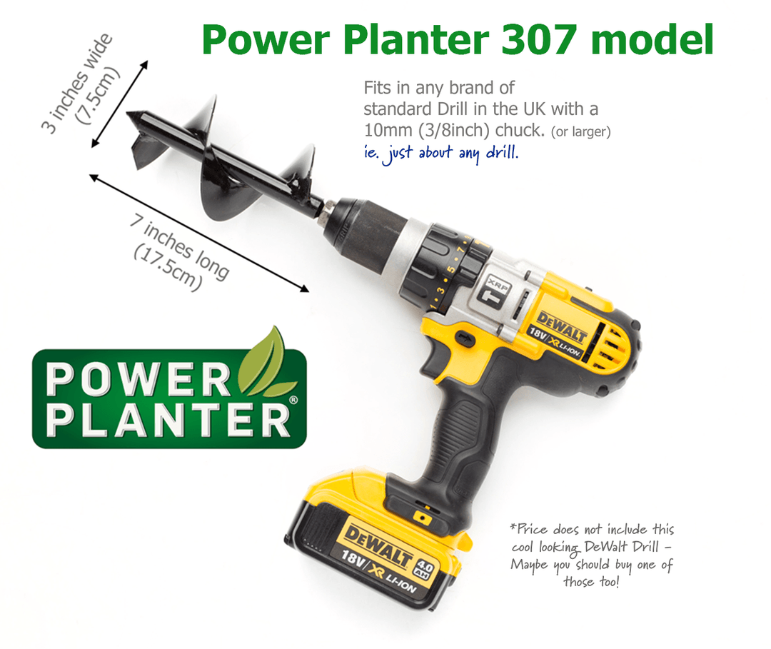 Power Planter 307 Model - for planting Potted Colour and Larger Bulbs