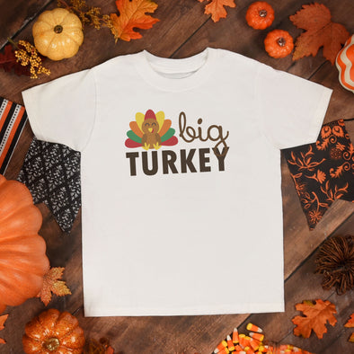 Big Turkey Toddler Tee - Inspired Hearts Boutique