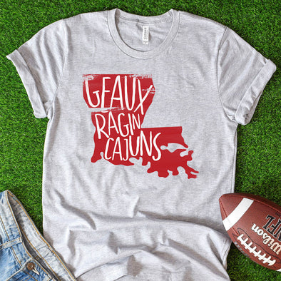 Geaux Ragin Cajuns Tee - Inspired Hearts Boutique
