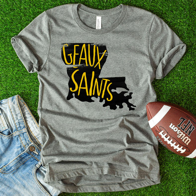 Geaux Saints Tee - Inspired Hearts Boutique