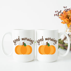 Good Morning Pumpkin Mug - Inspired Hearts Boutique