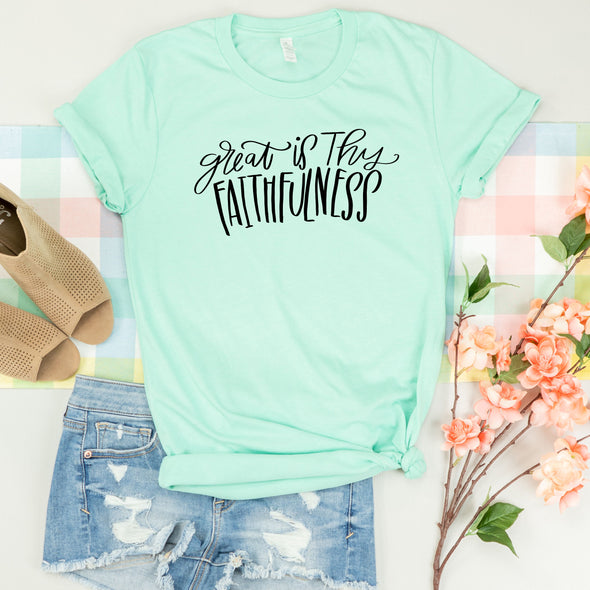 Great is Thy Faithfulness Shirt