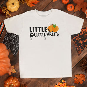 Little Pumpkin Toddler Tee - Inspired Hearts Boutique