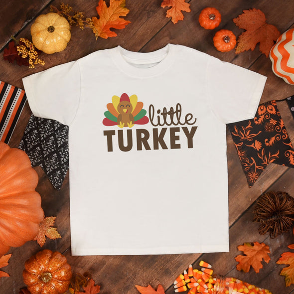 Little Turkey Toddler Tee - Inspired Hearts Boutique