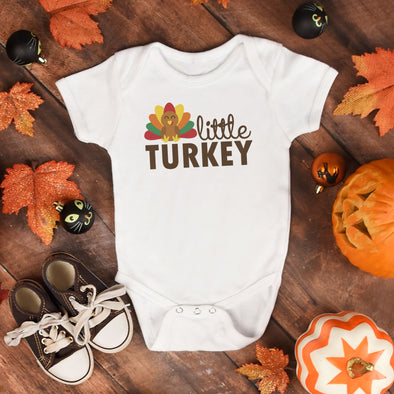 Little Turkey Infant Bodysuit - Inspired Hearts Boutique