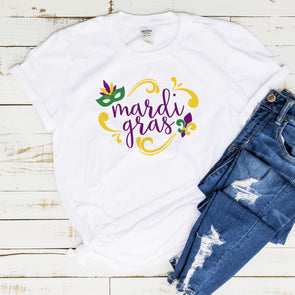 Girls Mardi Gras Shirt