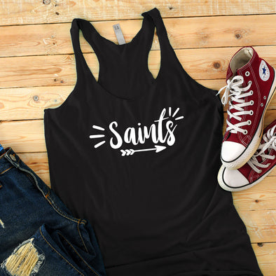Saints Tank Top - Inspired Hearts Boutique