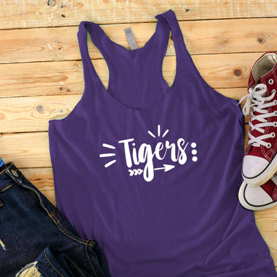 Tigers Tank Top - Inspired Hearts Boutique
