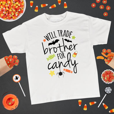 Will Trade Brother For Candy Toddler Tee - Inspired Hearts Boutique
