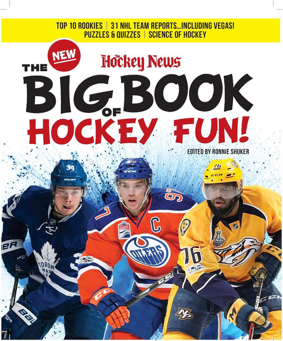 THE NEW BIG BOOK OF HOCKEY FUN!